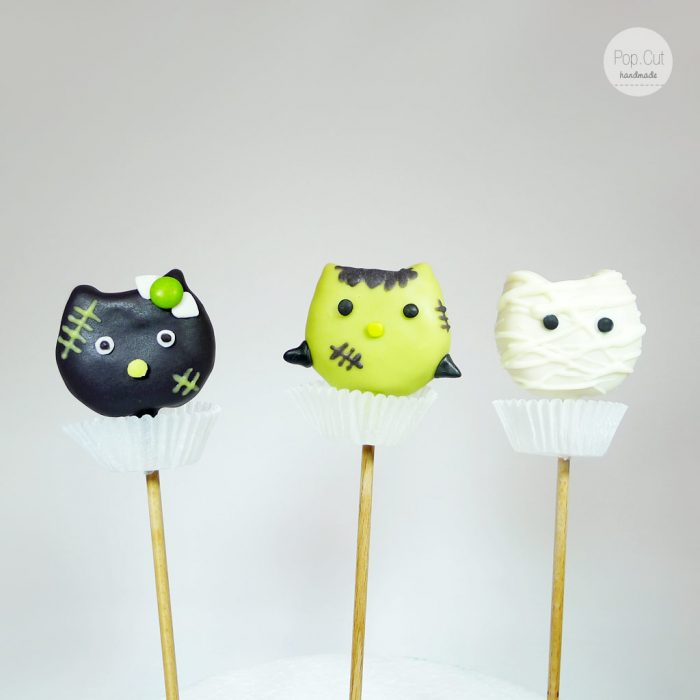 Cake Pop Hello Kitty Halloween