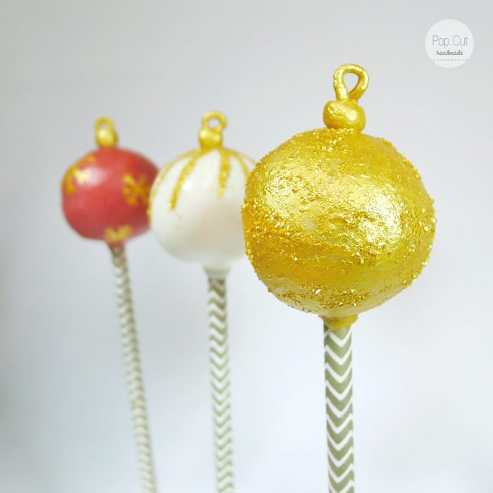 cake pop christbaumkugel