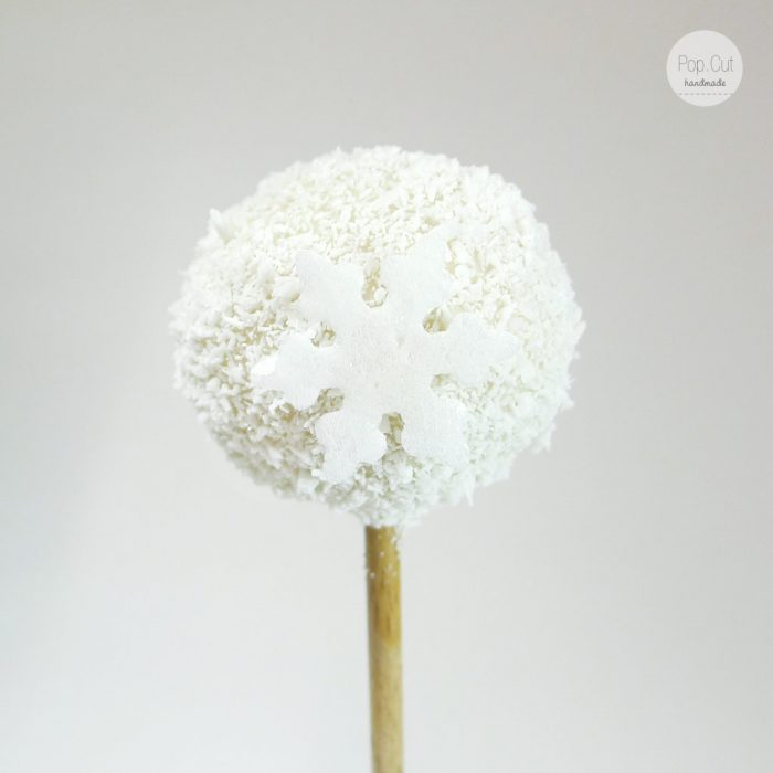 cake pop eisblume