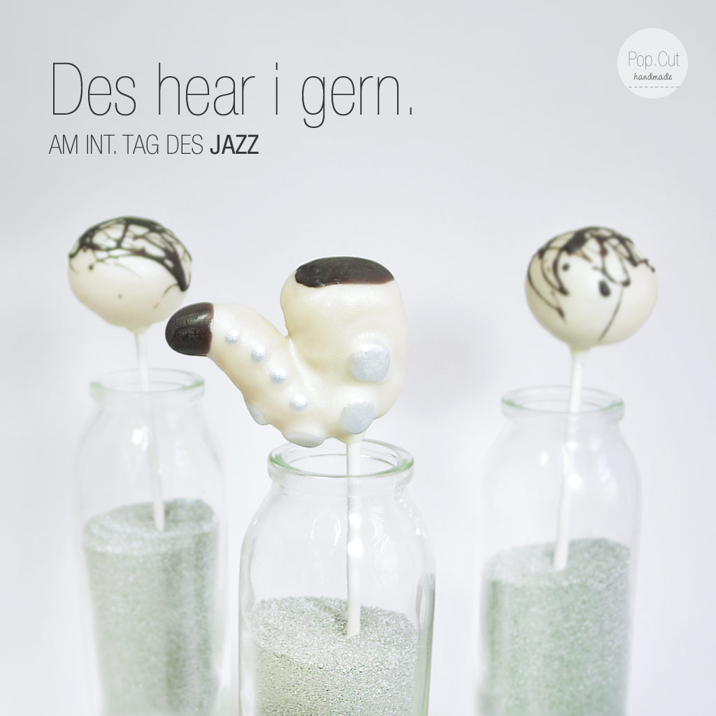 Internationaler Tag des Jazz | Cake Pop