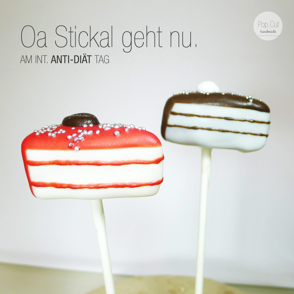 Internationaler Anti Diät Tag, Torten Cake Pop