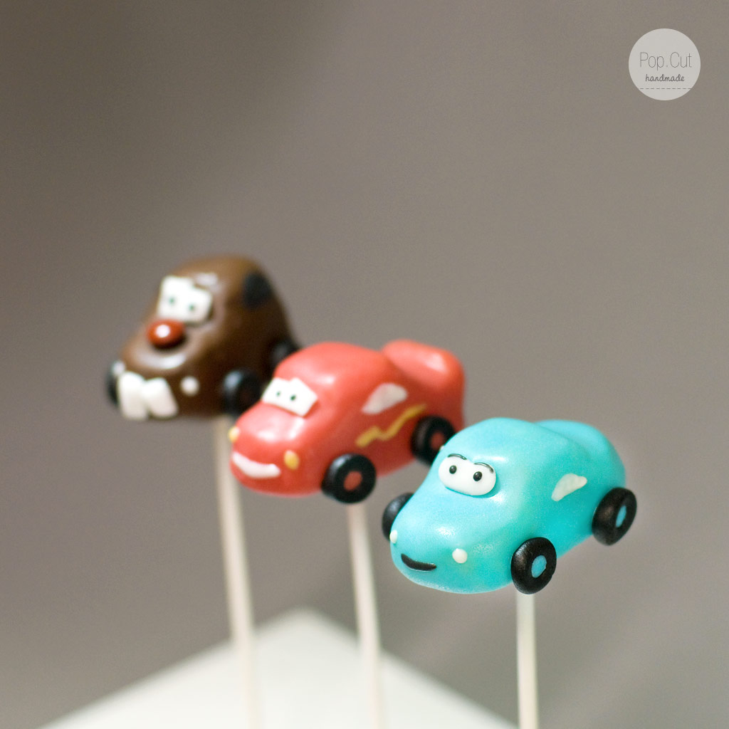 Cake Pops Cars - Sally!