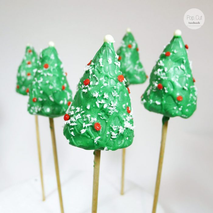 cake pop christbaum