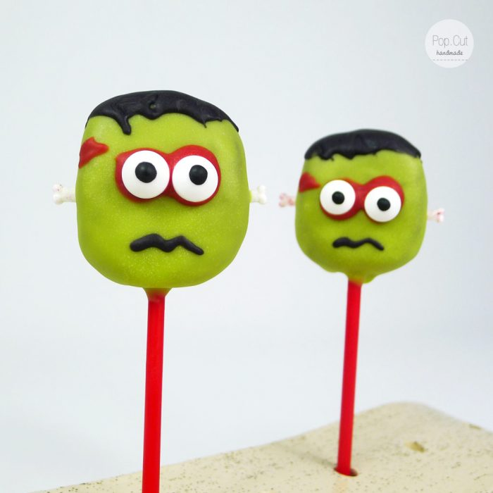 Cake Pop Frankenstein