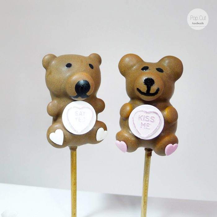 cake pop teddy