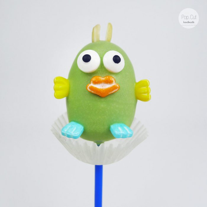 Cake Pop Vogel