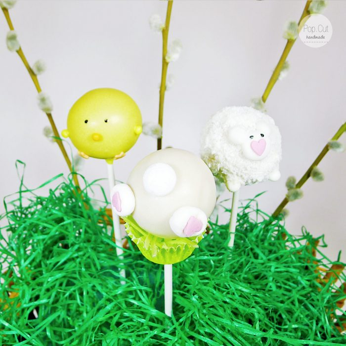 Cake Pops Ostern Collage