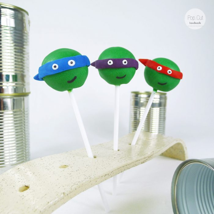 cake pops turtles